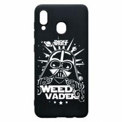 Чехол для Samsung A30 Weed Vader