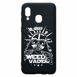 Чехол для Samsung A40 Weed Vader