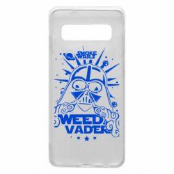 Чехол для Samsung S10 Weed Vader
