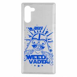 Чехол для Samsung Note 10 Weed Vader