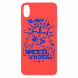 Чехол для iPhone X/Xs Weed Vader