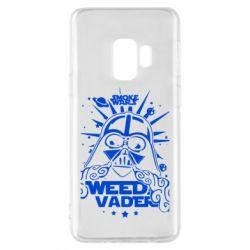 Чехол для Samsung S9 Weed Vader