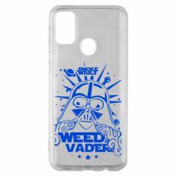 Чехол для Samsung M30s Weed Vader