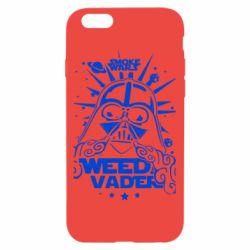 Чехол для iPhone 6 Weed Vader