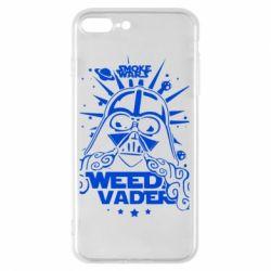 Чехол для iPhone 8 Plus Weed Vader