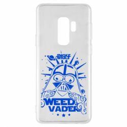 Чехол для Samsung S9+ Weed Vader
