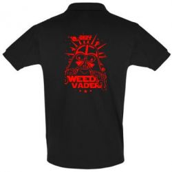 Футболка Поло Weed Vader - FatLine