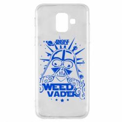 Чехол для Samsung A6 2018 Weed Vader