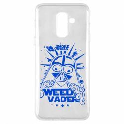Купить Star Wars, Чехол для Samsung A6+ 2018 Weed Vader, FatLine