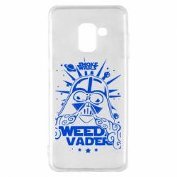 Чехол для Samsung A8 2018 Weed Vader