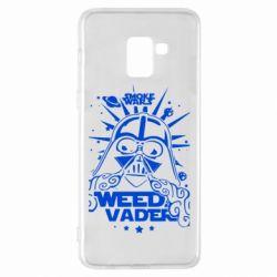 Чехол для Samsung A8+ 2018 Weed Vader
