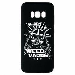 Чехол для Samsung S8 Weed Vader