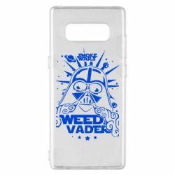 Чехол для Samsung Note 8 Weed Vader