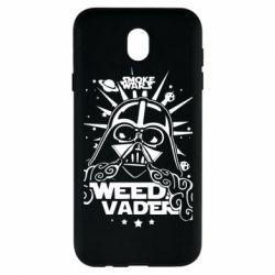 Чехол для Samsung J7 2017 Weed Vader