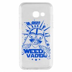 Купить Star Wars, Чехол для Samsung A3 2017 Weed Vader, FatLine