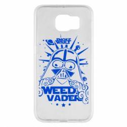 Чехол для Samsung S6 Weed Vader