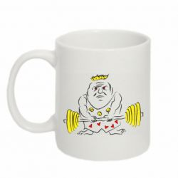Кружка 320ml Weightlifter caricature