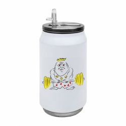 Термобанка 350ml Weightlifter caricature