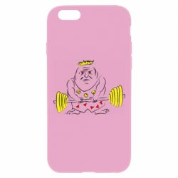 Чехол для iPhone 6 Plus/6S Plus Weightlifter caricature