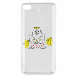 Чехол для Xiaomi Mi 5s Weightlifter caricature