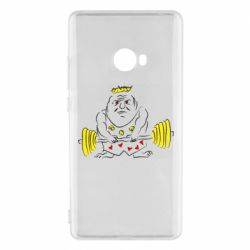 Чехол для Xiaomi Mi Note 2 Weightlifter caricature