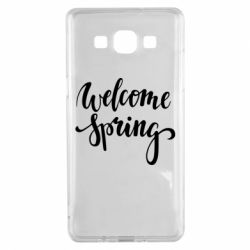 Чохол для Samsung A5 2015 Welcome spring