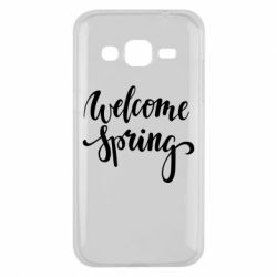 Чохол для Samsung J2 2015 Welcome spring