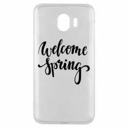 Чохол для Samsung J4 Welcome spring