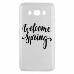 Чохол для Samsung J5 2016 Welcome spring