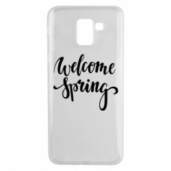Чохол для Samsung J6 Welcome spring