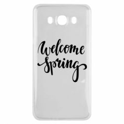 Чохол для Samsung J7 2016 Welcome spring