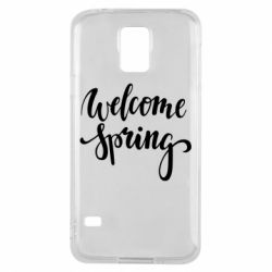 Чохол для Samsung S5 Welcome spring