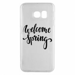 Чохол для Samsung S6 EDGE Welcome spring