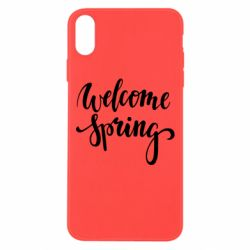 Чохол для iPhone Xs Max Welcome spring