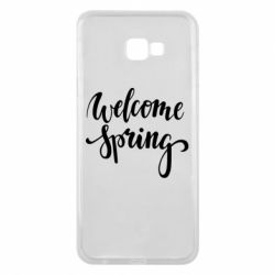 Чохол для Samsung J4 Plus 2018 Welcome spring