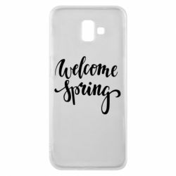 Чохол для Samsung J6 Plus 2018 Welcome spring