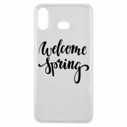 Чохол для Samsung A6s Welcome spring