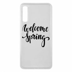 Чохол для Samsung A7 2018 Welcome spring