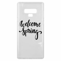 Чохол для Samsung Note 9 Welcome spring