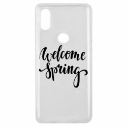 Чохол для Xiaomi Mi Mix 3 Welcome spring