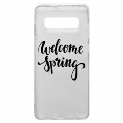 Чохол для Samsung S10+ Welcome spring