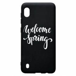 Чохол для Samsung A10 Welcome spring