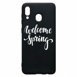 Чохол для Samsung A20 Welcome spring