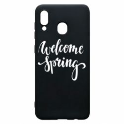 Чохол для Samsung A30 Welcome spring
