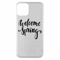 Чохол для iPhone 11 Welcome spring