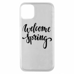 Чохол для iPhone 11 Pro Welcome spring