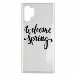 Чохол для Samsung Note 10 Plus Welcome spring