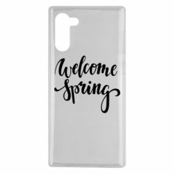 Чохол для Samsung Note 10 Welcome spring