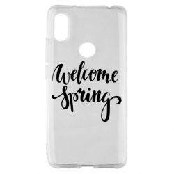 Чохол для Xiaomi Redmi S2 Welcome spring