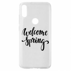 Чохол для Xiaomi Mi Play Welcome spring